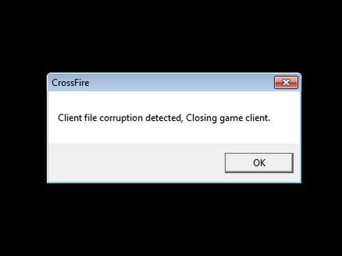Client file corruption detected, Closing game client, (Solução)
