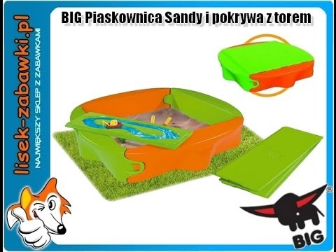sandkasten abdeckung big sandy spielzeug f r kinder youtube. Black Bedroom Furniture Sets. Home Design Ideas