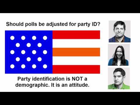 Should polls be adjusted for party identification?