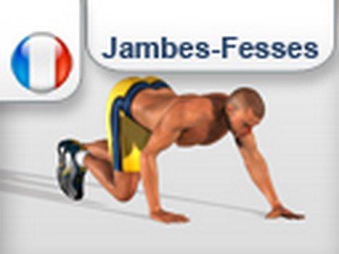 exercice jambe et fessier