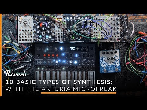 10 Types of Synthesis, Explained: FM, Vector, and More