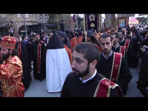 Armenians Mark Centenary of Ottoman Empire's Genocide Campai