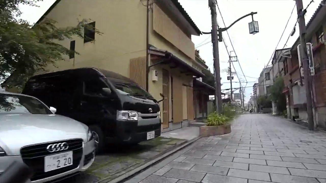 京都の路地から 浄福寺通り