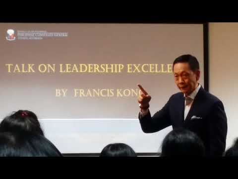 Francis Kong mentors Filipinos & Multicultural Australians on Excellent Leadership