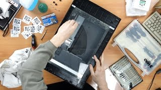 Cleaning Epson V700 Scanner: How to