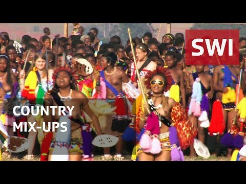 Swaziland, not Switzerland