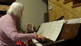 "Peggy Willis plays, ""Master the Tempest is Raging"" by H R Palmer, arrangement by Rebecca Belliston"