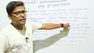 Physical geography of India (soil of India part-2) by vidwan competition in odia