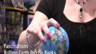 Fascinations - Rolling Earth Puzzle