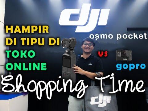 Dji Osmo Pocket Vs Gopro 7 Indonesia - Shopping Time
