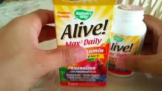 Alive Max Daily Multi-Vitamin Supplement Review