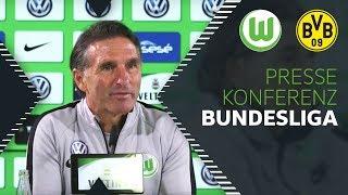 """""""Wir wollen Dortmund fordern!""""   Pressekonferenz   VfL Wolfsburg - Borussia Dortmund"""