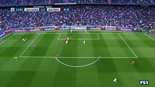 Real Madrid vs Bayern Munich  1-1 BENZENA GOAL 01.05.2018