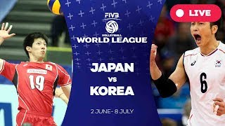 Japan v Korea - Group 2: 2017 FIVB Volleyball World League