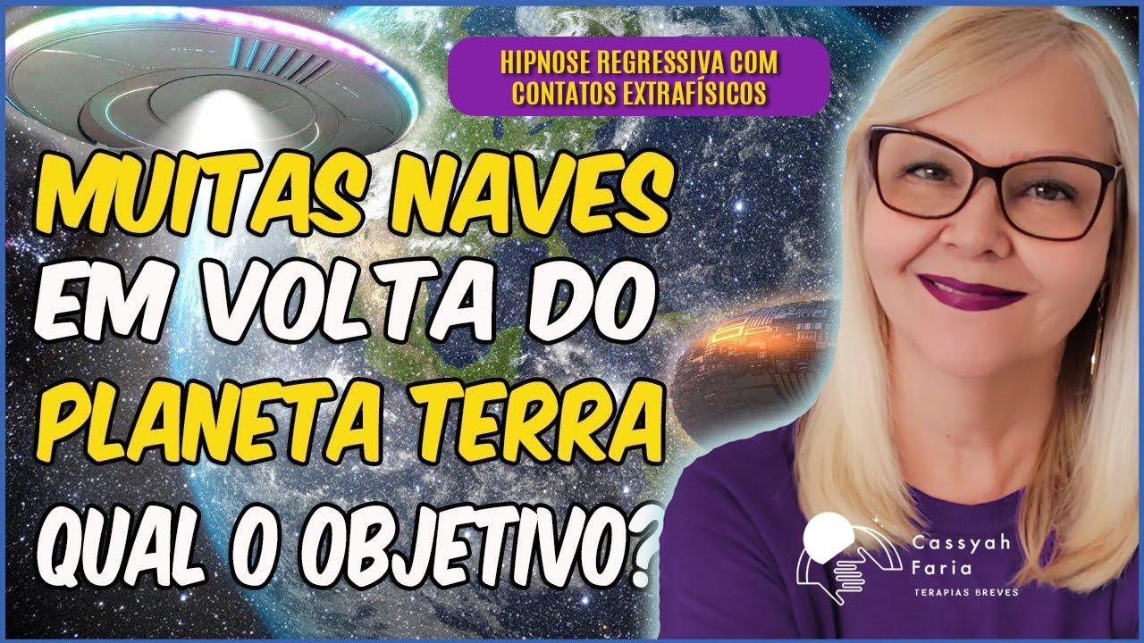 HIPNOSE - MUITAS NAVES EM VOLTA DA TERRA. QUAL O OBJETIVO?