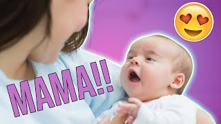 Cute Baby's First Words Compilation