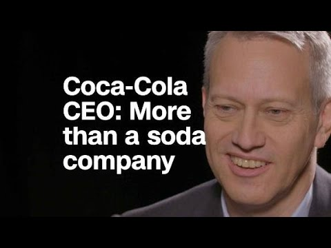 Coca-Cola CEO: 'We try to be more than a soda compan...