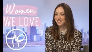 5 minutes with Zoe Kazan