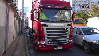 Grav accident rutier la piața Nicolina