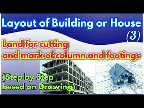 layout of Building or house (Step to Step wise, Easy and Simple)Hindi