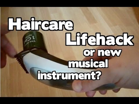 Haircare Lifehack or New Musical Instrument? [Nick Sheridan]