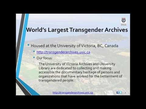 History in the Raw: The Transgender Archives