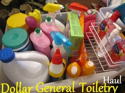 College Series: Dorm(Apartment)- Dollar General Toiletries Haul