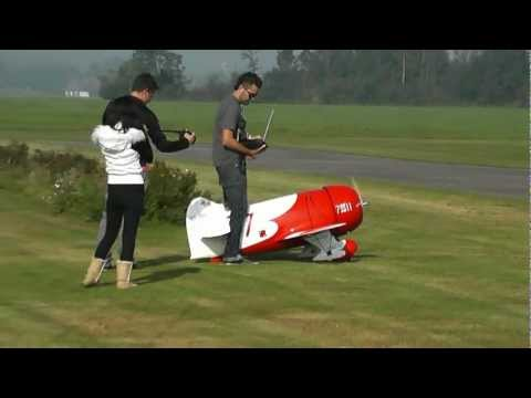 Gee Bee R2 CARF brand new DA150 maiden