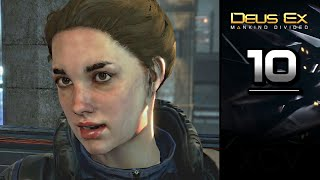 Deus Ex Mankind Divided Gameplay Walkthrough Part 10 covers Main Mission M4 Checking Out TF29 on PC PS4 Xbox One Stealth gameplay no