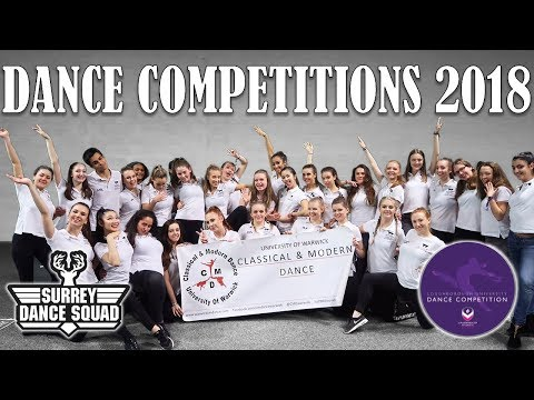 UNIVERSITY DANCE COMPETITIONS 2018   SURREY + LOUGHBOROUGH   Bethany Chan