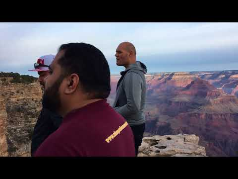 Sunrise waiata (song) of 'Te Aroha' at South Rim, Grand Canyon, AZ