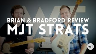 Video MJT VTS Review & Demo - Brian and Bradford play and review Strat style guitars by MJT download MP3, 3GP, MP4, WEBM, AVI, FLV Juni 2018