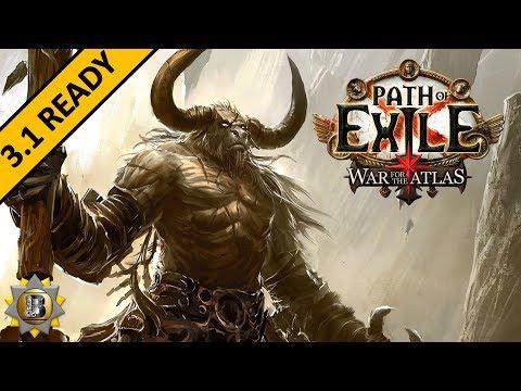 [3.1] Sunder Build - Berserker Marauder - Path of Exile War For The Atlas - Abyss