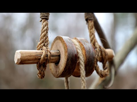 This Wilderness Technique will Blow Your Mind: Bushcraft Gadgets, Survival Tools, Primitive Pulley