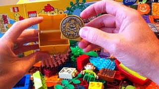 Time Lapse Unboxing Building Lego Duplo Pirate Jake And The Never Land Pirates With Peter Pan