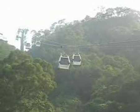 Maokong Gondola cable car, Taipei, Taiwan