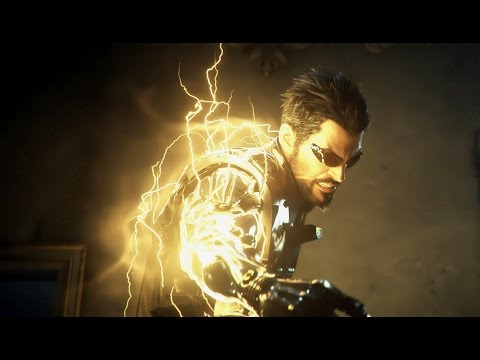Deus Ex Mankind Divided Gameplay - Stealth Takedowns