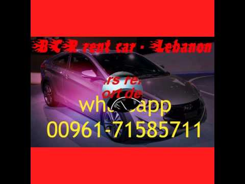 Rent cars in Beirut Lebanon 2016