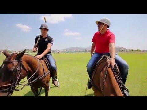 Ryk Neethling Gives Dan A Polo Lesson!