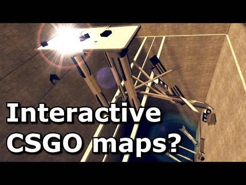 Should CS:GO maps be interactive? (By 3kliksphilip)