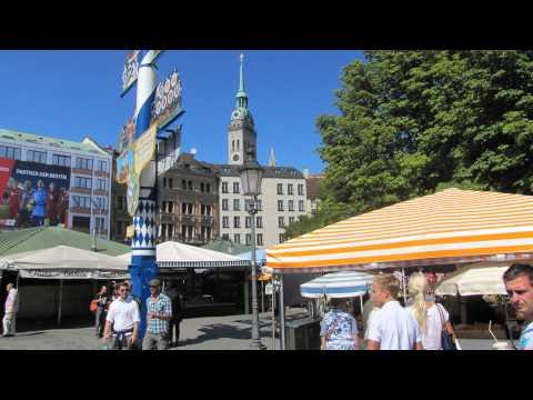 MÜNCHEN,  Stadtbummel Marienplatz, Viktualienmarkt, Stachus
