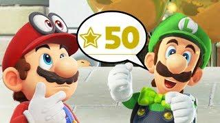 Super Mario Odyssey - Reaching Highest Rank in Luigi's Balloon World (Rank 50+ Reward)