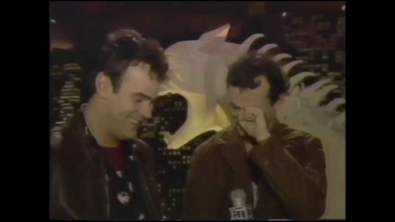 Download Entertainment Tonight Reports on Ghostbusters 1983/84