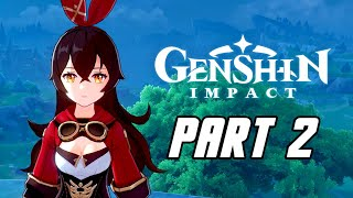 Genshin Impact - Gameplay Walkthrough Part 2 (Male, No Commentary, PS4 PRO)