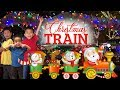 Irvine Regional Park Railroad Christmas Train Ride 2019 (Santa, Games, and More!) 4K