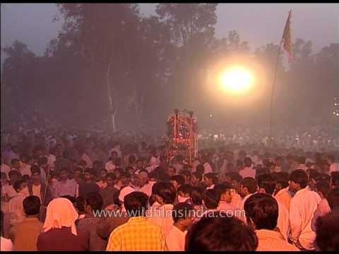 Muharram procession in Delhi