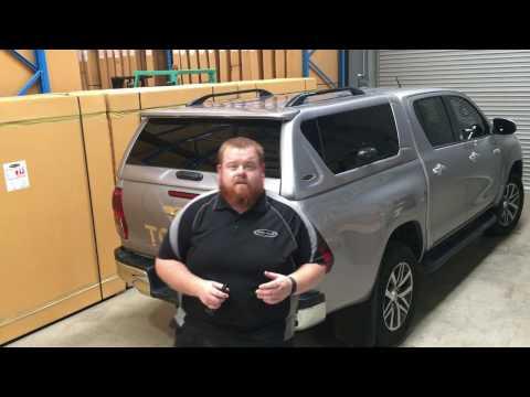 Toyota Hilux Canopy | ELITE canopy | PJ's 4x4 accessories
