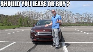 Buying VS leasing a car - Which is the better option ? ( Don
