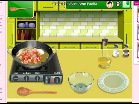 ОБЗОР ИГР:Кухня Сары: паэлья