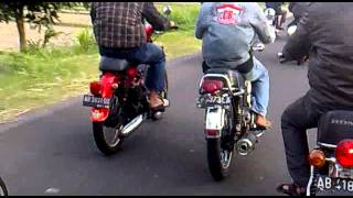 Honda CB Malioboro Jogjakarta Indonesia ride on!